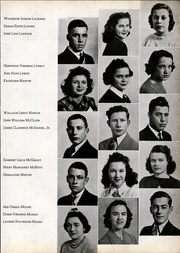 Andrew Lewis High School - Pioneer Yearbook (Salem, VA) online yearbook collection, 1940 Edition, Page 35