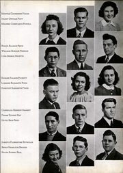 Andrew Lewis High School - Pioneer Yearbook (Salem, VA) online yearbook collection, 1940 Edition, Page 37