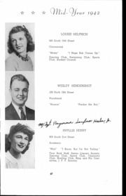 Andrew Lewis High School - Pioneer Yearbook (Salem, VA) online yearbook collection, 1942 Edition, Page 48 of 146