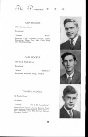Andrew Lewis High School - Pioneer Yearbook (Salem, VA) online yearbook collection, 1942 Edition, Page 49