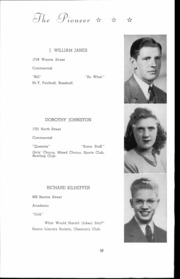 Andrew Lewis High School - Pioneer Yearbook (Salem, VA) online yearbook collection, 1942 Edition, Page 51 of 146