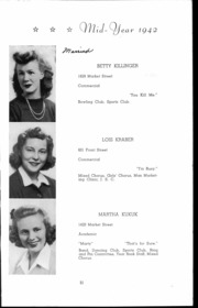 Andrew Lewis High School - Pioneer Yearbook (Salem, VA) online yearbook collection, 1942 Edition, Page 52
