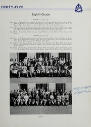 Andrew Lewis High School - Pioneer Yearbook (Salem, VA) online yearbook collection, 1945 Edition, Page 45