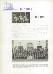 Andrew Lewis High School - Pioneer Yearbook (Salem, VA) online yearbook collection, 1946 Edition, Page 86 of 136