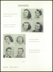 Andrew Lewis High School - Pioneer Yearbook (Salem, VA) online yearbook collection, 1950 Edition, Page 29