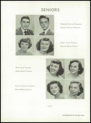 Andrew Lewis High School - Pioneer Yearbook (Salem, VA) online yearbook collection, 1950 Edition, Page 44