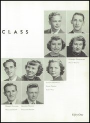 Andrew Lewis High School - Pioneer Yearbook (Salem, VA) online yearbook collection, 1951 Edition, Page 35