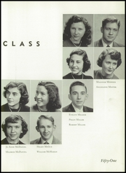 Andrew Lewis High School - Pioneer Yearbook (Salem, VA) online yearbook collection, 1951 Edition, Page 39 of 184