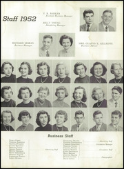 Andrew Lewis High School - Pioneer Yearbook (Salem, VA) online yearbook collection, 1952 Edition, Page 11