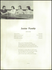 Andrew Lewis High School - Pioneer Yearbook (Salem, VA) online yearbook collection, 1952 Edition, Page 62 of 200