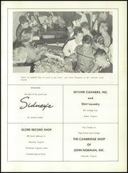 Andrew Lewis High School - Pioneer Yearbook (Salem, VA) online yearbook collection, 1959 Edition, Page 165