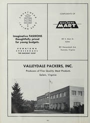 Andrew Lewis High School - Pioneer Yearbook (Salem, VA) online yearbook collection, 1963 Edition, Page 166