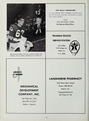Andrew Lewis High School - Pioneer Yearbook (Salem, VA) online yearbook collection, 1964 Edition, Page 196