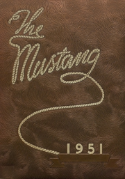 Andrews High School - Mustang Yearbook (Andrews, TX) online yearbook collection, 1951 Edition, Cover