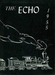 Angelica Central School - Echo Yearbook (Angelica, NY) online yearbook collection, 1955 Edition, Cover