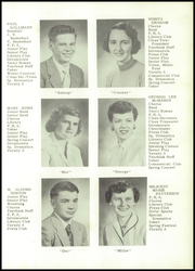Page 13, 1955 Edition, Angelica Central School - Echo Yearbook (Angelica, NY) online yearbook collection
