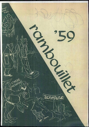 Angelo State University - Rambouillet Yearbook (San Angelo, TX) online yearbook collection, 1959 Edition, Cover