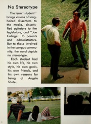 Page 12, 1972 Edition, Angelo State University - Rambouillet Yearbook (San Angelo, TX) online yearbook collection