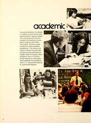 Angelo State University - Rambouillet Yearbook (San Angelo, TX) online yearbook collection, 1974 Edition, Page 10