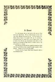 Page 12, 1907 Edition, Angola High School - Key Yearbook (Angola, IN) online yearbook collection