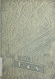 Angola High School - Key Yearbook (Angola, IN) online yearbook collection, 1940 Edition, Cover