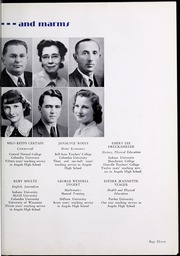 Page 17, 1940 Edition, Angola High School - Key Yearbook (Angola, IN) online yearbook collection