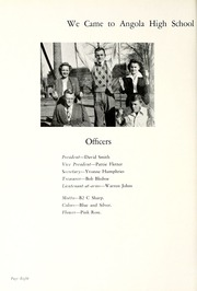 Page 12, 1946 Edition, Angola High School - Key Yearbook (Angola, IN) online yearbook collection