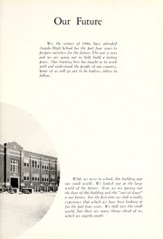 Page 7, 1946 Edition, Angola High School - Key Yearbook (Angola, IN) online yearbook collection