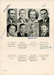 Page 14, 1950 Edition, Angola High School - Key Yearbook (Angola, IN) online yearbook collection