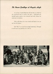 Page 9, 1950 Edition, Angola High School - Key Yearbook (Angola, IN) online yearbook collection