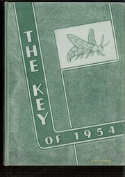 Angola High School - Key Yearbook (Angola, IN) online yearbook collection, 1954 Edition, Cover