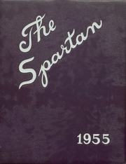 Anita High School - Spartan Yearbook (Anita, IA) online yearbook collection, 1955 Edition, Cover