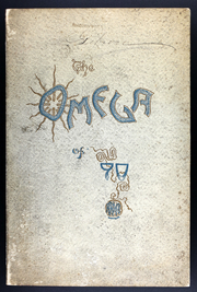 Ann Arbor High School - Omega Yearbook (Ann Arbor, MI) online yearbook collection, 1890 Edition, Cover
