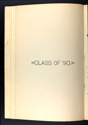 Page 12, 1890 Edition, Ann Arbor High School - Omega Yearbook (Ann Arbor, MI) online yearbook collection