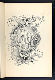 Page 13, 1890 Edition, Ann Arbor High School - Omega Yearbook (Ann Arbor, MI) online yearbook collection