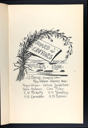 Page 15, 1890 Edition, Ann Arbor High School - Omega Yearbook (Ann Arbor, MI) online yearbook collection