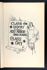 Page 17, 1890 Edition, Ann Arbor High School - Omega Yearbook (Ann Arbor, MI) online yearbook collection