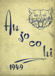 Anna Jonesboro High School - Wildcat Lair Yearbook (Anna, IL) online yearbook collection, 1949 Edition, Cover