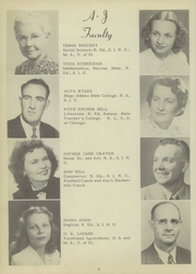 Page 10, 1949 Edition, Anna Jonesboro High School - Wildcat Lair Yearbook (Anna, IL) online yearbook collection