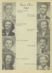 Page 13, 1949 Edition, Anna Jonesboro High School - Wildcat Lair Yearbook (Anna, IL) online yearbook collection