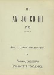 Page 7, 1949 Edition, Anna Jonesboro High School - Wildcat Lair Yearbook (Anna, IL) online yearbook collection
