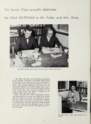 Page 6, 1962 Edition, Annandale High School - Antenna Yearbook (Annandale, VA) online yearbook collection
