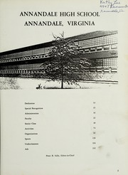 Page 7, 1965 Edition, Annandale High School - Antenna Yearbook (Annandale, VA) online yearbook collection
