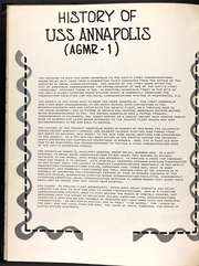 Page 15, 1967 Edition, Annapolis (AGMR 1) - Naval Cruise Book online yearbook collection