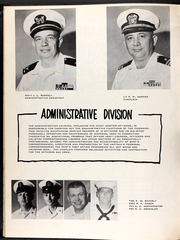 Page 17, 1967 Edition, Annapolis (AGMR 1) - Naval Cruise Book online yearbook collection