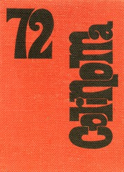 Annville Cleona High School - Corinoma Yearbook (Annville, PA) online yearbook collection, 1972 Edition, Cover