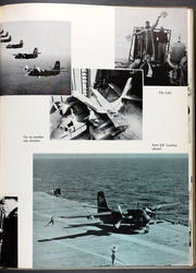 Antietam (CVS 36) - Naval Cruise Book online yearbook collection, 1955 Edition, Page 75