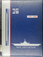 Antietam (CV 36) - Naval Cruise Book online yearbook collection, 1952 Edition, Cover