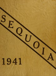 Antioch Community High School - Sequoia Yearbook (Antioch, IL) online yearbook collection, 1941 Edition, Cover