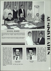 Page 7, 1985 Edition, Aplington Community School - Panther Yearbook (Aplington, IA) online yearbook collection